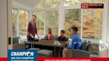 Champion Windows TV Spot, 'Sunroom: 20 Percent' - Thumbnail 7