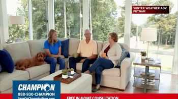 Champion Windows TV Spot, \'Sunroom: 20%\'