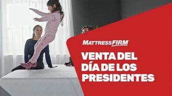 Mattress Firm Venta del Día de los Presidentes TV Spot, 'Juegos de colchones' [Spanish]