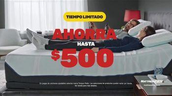 Mattress Firm Venta del Día de los Presidentes TV Spot, 'Juegos de colchones' [Spanish] - Thumbnail 4