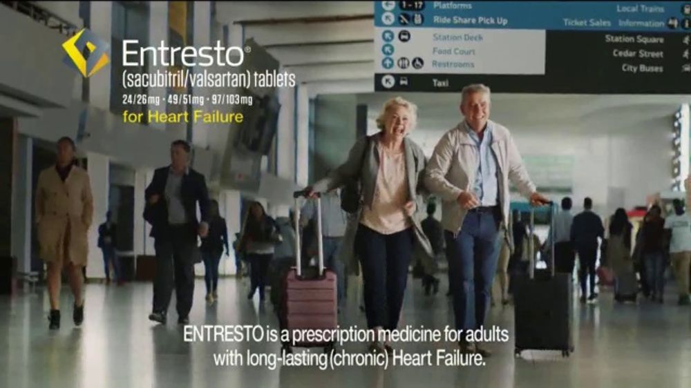Entresto TV Commercial, 'The Beat Goes On: Airport'