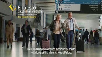 Entresto TV Spot, \'The Beat Goes On: Airport\'