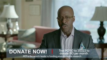 Prostate Cancer Foundation TV Spot, 'Cure: $10' Featuring Courtney B. Vance - 155 commercial airings