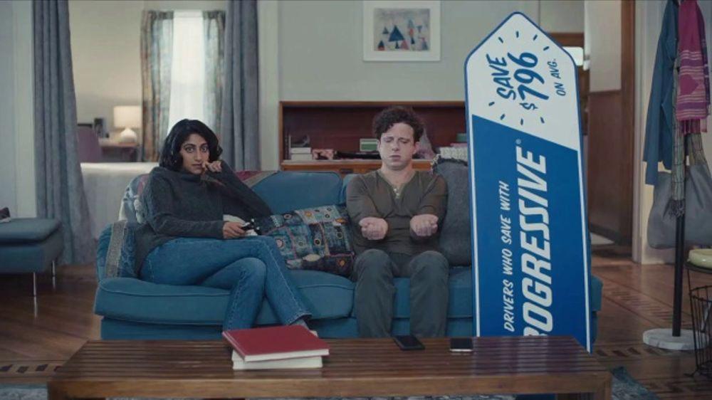 Progressive TV Commercial, 'Sign Spinner: Forearms'