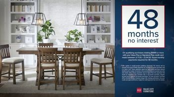 Value City Furniture Presidents Day Sale TV Spot, 'Doorbuster Deals: Free Ottomans' - Thumbnail 5