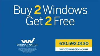 Window Nation TV Spot, 'Quality: Buy Two, Get Two Free' - Thumbnail 9