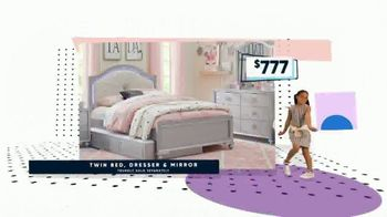 Rooms to Go Kids Presidents Day Sale TV Spot, 'Beds and Bedrooms' - Thumbnail 7