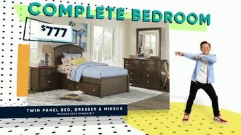 Rooms to Go Kids Presidents Day Sale TV Spot, 'Beds and Bedrooms' - Thumbnail 8