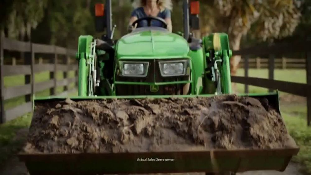 John Deere 3E Series TV Commercial, 'Karen's Land: $139'