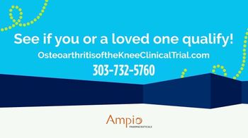 Ampio Pharmaceuticals TV Spot, 'Clinical Research Trial: Knee Pain' - Thumbnail 3