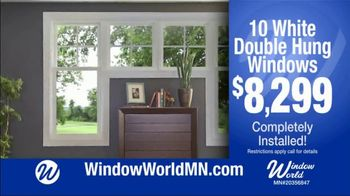 Window World Minnesota TV Spot, 'White Double Hung Windows'