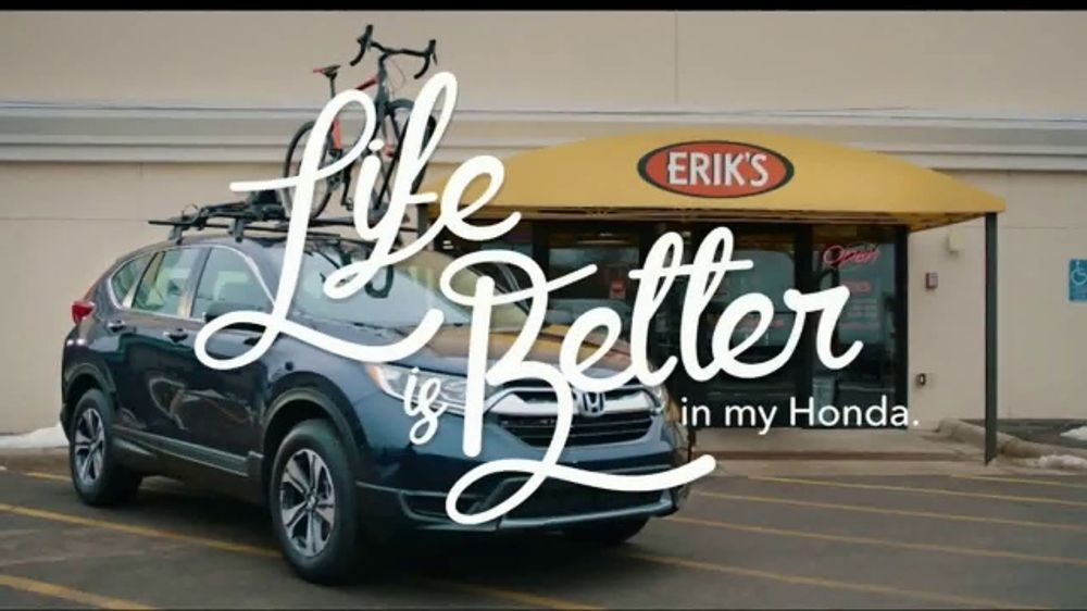 Honda Presidents Day Sales Event TV Commercial, 'Life Is Better: Erik's' [T2]