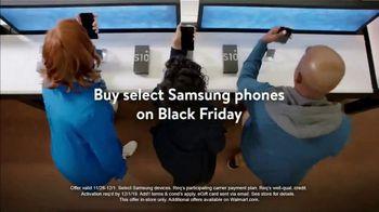 Walmart Black Friday TV Spot, 'Select Samsung Phones' Song by Lizzo - Thumbnail 4