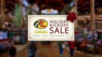 Bass Pro Shops Holiday Kickoff Sale TV Spot, \'Fleece Throws, Knives and Boots\'