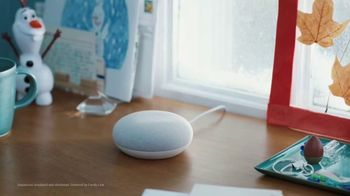 Google Home Mini TV Spot, 'Frozen 2: Like a Snowball: $25' - Thumbnail 1