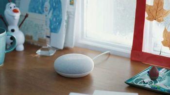 Google Home Mini TV Spot, 'Frozen 2: Like a Snowball: $25'