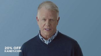 Kane 11 Socks TV Spot, 'What Size Socks Do You Wear: 20 Percent Off' Featuring Boomer Esiason - Thumbnail 1