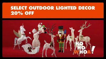 Big Lots Big Black Friday Sale TV Spot, 'Ho-Ho-Whoa: Outdoor Lighted Decor' - Thumbnail 3