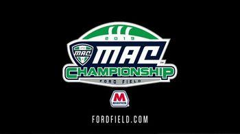 2019 MAC Championship TV Spot, '2019 Ford Field' - Thumbnail 8