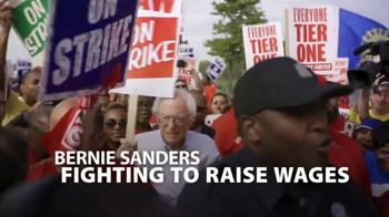 Bernie 2020 TV Spot, 'Fights For Us' - 4 commercial airings