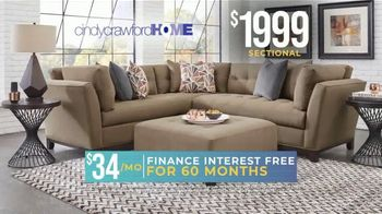 Rooms to Go Holiday Sale TV Spot, 'Cindy Crawford Home' - Thumbnail 6