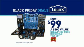 Lowe's Black Friday Deals TV Spot, 'Tool Set: Rod Pod' Featuring Kurt Warner - Thumbnail 9