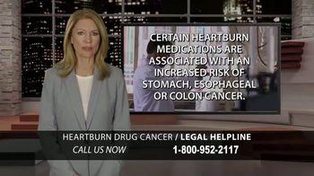 Moore Law Group TV Spot, 'Heartburn Drug Cancer'