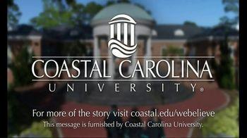 Coastal Carolina University TV Spot, 'We Believe' - Thumbnail 10