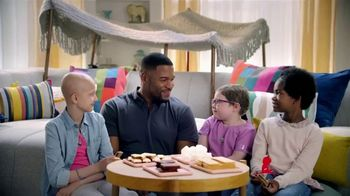 St. Jude Children's Research Hospital TV Spot, 'Camping and S'mores' Featuring Michael Strahan - 286 commercial airings