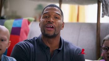 St. Jude Children's Research Hospital TV Spot, 'Camping and S'mores' Featuring Michael Strahan
