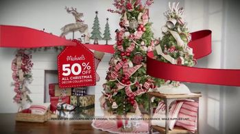 Michaels Holiday Home Event TV Spot, 'All Christmas Decor'