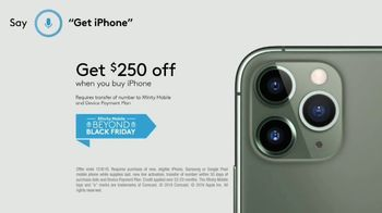 XFINITY Mobile Beyond Black Friday TV Spot, 'First Words: iPhone 11 Pro' Song by Screamin' Jay Hawki - Thumbnail 10