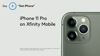 XFINITY Mobile Beyond Black Friday TV Spot, 'First Words: iPhone 11 Pro' Song by Screamin' Jay Hawki - Thumbnail 9