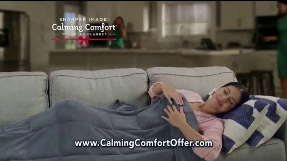 Sharper Image Calming Comfort Amp Therma Comfort Tv