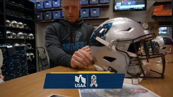 USAA TV Spot, 'Salute to Service: Helmet Decals' Featuring Jarvis Landry, George Kittle - Thumbnail 1
