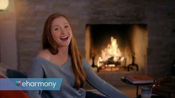 eHarmony TV Spot, 'Cozy Night In' - Thumbnail 1