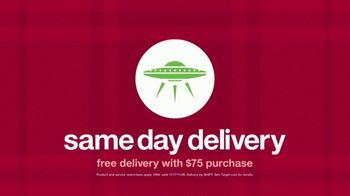 Target TV Spot, 'Merry Multitaskers: Free Delivery with $75 Purchase' Song by Sam Smith - Thumbnail 10