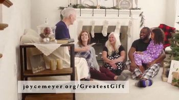 Joyce Meyer Ministries TV Spot, 'Holidays: The Greatest Gift'