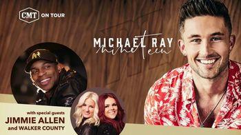 CMT On Tour TV Spot, 'Michael Ray's Nineteen Tour'