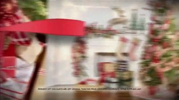 Michaels Holiday Home Event TV Spot, 'All Christmas Decor: Up to 60 Percent Off All Trees'