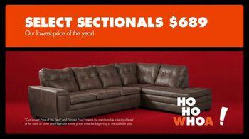 Big Lots Black Friday Sale TV Spot, 'Ho-Ho-Whoa: Select Sectionals' - Thumbnail 3