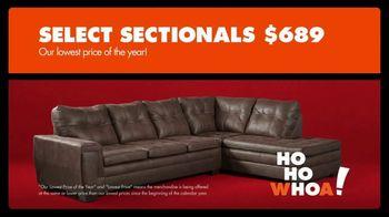 Big Lots Black Friday Sale TV Spot, 'Ho-Ho-Whoa: Select Sectionals' - Thumbnail 5