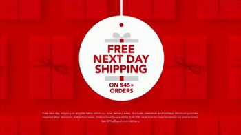 Office Depot & OfficeMax TV Spot, 'Worry-Free: Next Day Shipping & 1-Hour Pickup' - Thumbnail 6