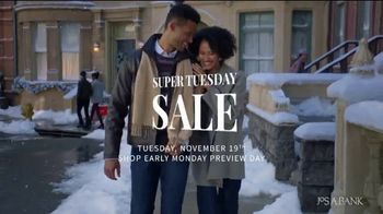 JoS. A. Bank Super Tuesday Sale TV Spot, 'Dress Shirts, Suits and Clearance'
