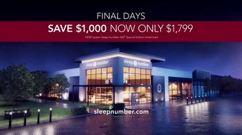 Sleep Number Veterans Day Sale TV Spot, 'Automatically Adjusts: Save $1,000' - Thumbnail 8