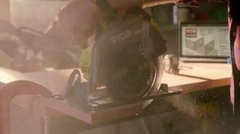 The Home Depot TV Spot, 'Work Your Magic: Ryobi Combo Kit' - Thumbnail 4