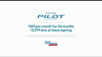 Honda Presidents Day Sales Event TV Spot, 'Life Is Better: 2020 Pilot' [T2] - Thumbnail 9