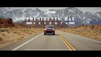 Jeep Presidents Day Event TV Spot, 'Oath of Adventure' [T1] - Thumbnail 1