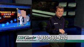 LeafGuard of Pittsburgh Winter Half Off Sale TV Spot, 'Presidents Day'