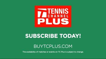 Tennis Channel Plus TV Spot, 'Most Live Tennis Anywhere' Feat. Roger Federer, Serena Williams - Thumbnail 10